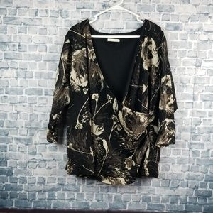 ♡6/$25♡ Coldwater Creek blouse (1244)